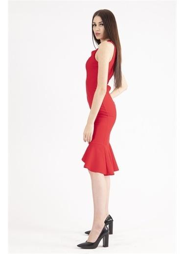 Belamore  Abiye & Mezuniyet Elbisesi Kırmızı
